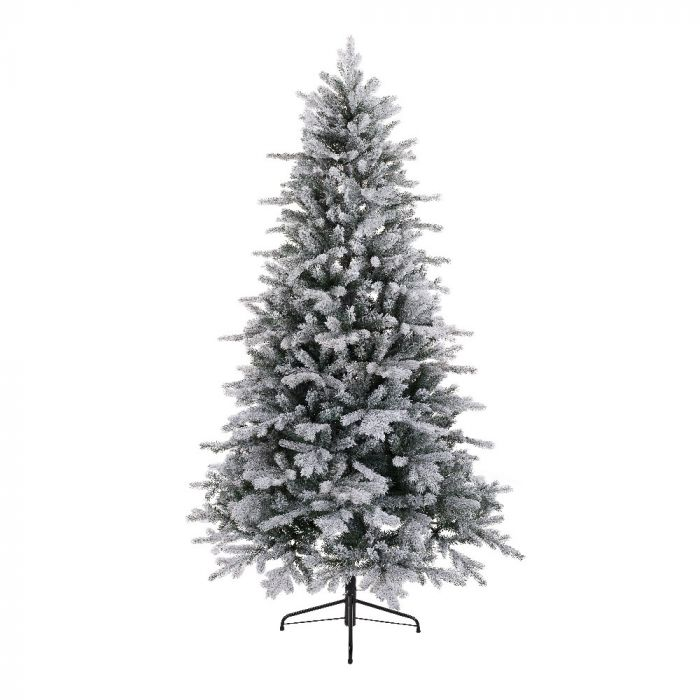 Artificial Christmas Tree Branches.Frosted Vermont Spruce Artificial Christmas Tree 6ft