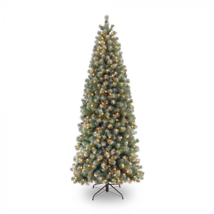 size 40 6a466 f253a Pre-lit Lakeland Spruce Slim Christmas Tree 6.5ft