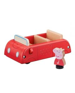 Peppa Pig Wooden Red Car