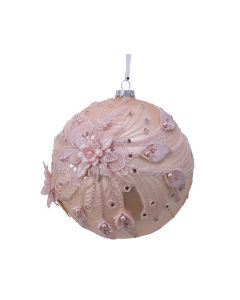 Pearl Floral Lace Bauble
