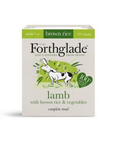 Forthglade Complete Meal Adult Lamb with Brown Rice & Veg