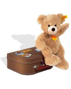 Steiff - Fynn Teddy Bear with Suitcase
