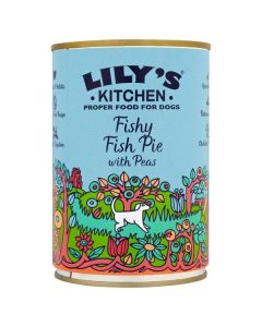 Lilys Kitchen Fishy Fish Pie With Peas 400g
