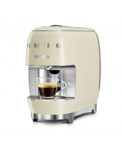 SMEG Lavazza Coffee Machine - Cream