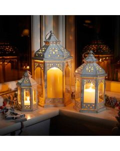 Three Kings Lanterns - White
