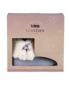 totes Ladies Cord Faux fur Lined Bootie