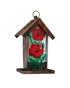 Poppy Solar Bird Feeder