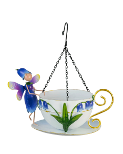 Fairy Hanging Bird Feeder Bluebell