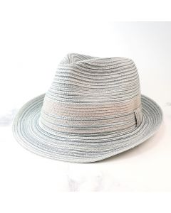 POM Boutique Woven Hat - Grey