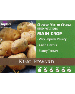 Taylors Bulbs: King Edward 2kg seed Potato's