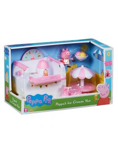 Peppa Pigs ice cream Van