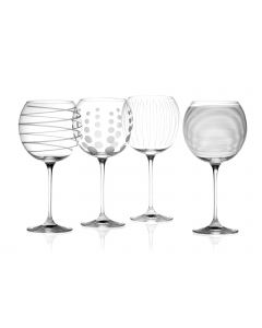 Mikasa Cheers Balloon Glasses Set of 4