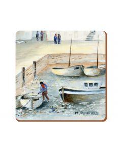 Creative Tops - Cornish Harbour Pack Of 6 Premium Coasters