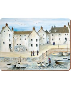 Creative Tops - Cornish Harbour Pack Of 6 Premium Placemats