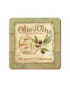 Creative Tops - Olio D Oliva Pack Of 6 Premium Coasters