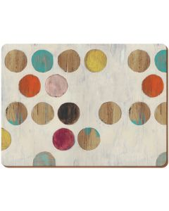 Creative Tops - Retro Spot Pack Of 6 Premium Placemats