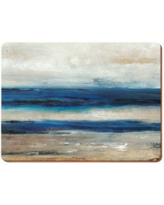Creative Tops - Blue Abstract Pack Of 6 Premium Placemats