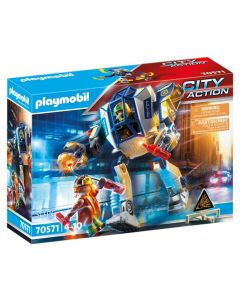 City Action Police Special Operations Police Robot