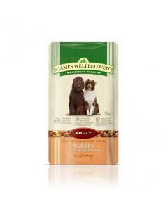 Wellbeloved Turkey and Rice Adult Pouch 150g