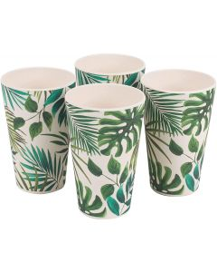 Bamboo Polynesia Cups - 4 Pack