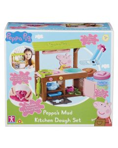 Peppa's Mud Kitchen Dough Set