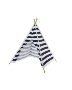 Childrens Teepee with Stripe Print