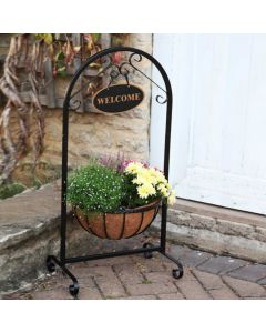 "14"" Saxon Welcome Planter"