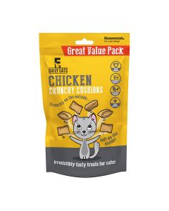 Crunchy Chicken Cat Cushions Value Pack 200G