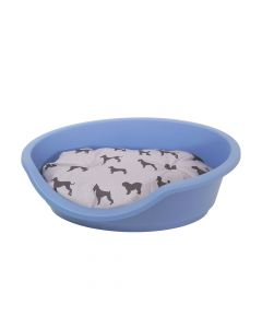 Eco Line Plastic Pet Bed 60 Slate Blue