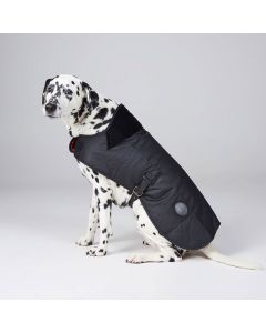 Barbour Wax Dog Coat Black