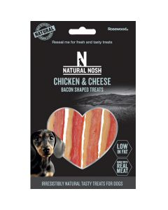 Chicken & Cheese Bacon Shaped Treats