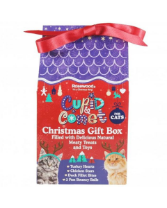 Christmas Gift Box for Cats 120g