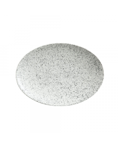 Maxwell & Williams Caviar Speckle 30cm Oval Plate