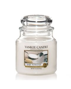 Yankee Candle Baby Powder - Medium Jar