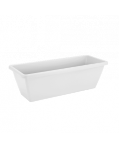 Elho Barcelona Trough 40cm - White