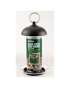 Gardman Mini Black Steel Seed Feeder
