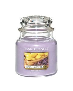 Yankee Candle Lemon Lavender - Medium Jar