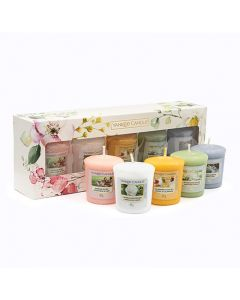 Yankee Candle Garden Hideaway 5 Votive Candle Gift Set
