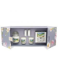 Yankee Candle Garden Hideaway Clean Cotton Gift Set