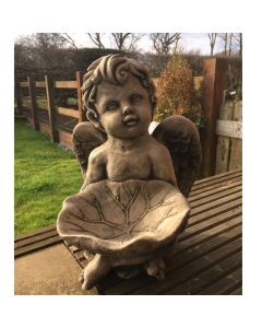 Cherub With Bowl