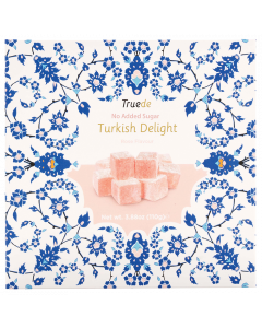 No Added Sugar Rose Flavour Turkish Delight Gift Box
