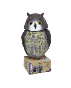 Defenders Wind Action Owl Bird Repeller