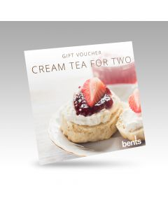 Bents Cream Tea for Two