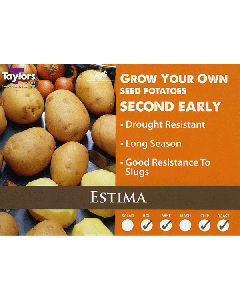 Taylors Bulbs: Estima 2kg seed Potato's