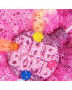 Pink Infinity Watercolours Bath Bomb