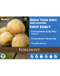 Taylors Bulbs: Foremost 2kg seed Potato's