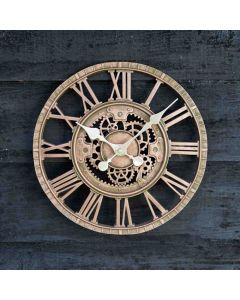 Newby Mechanical Wall Clock - Bronze