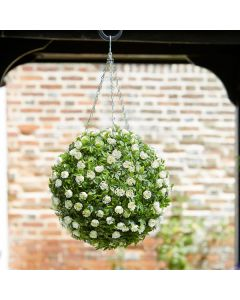 White Rose Ball - 30cm