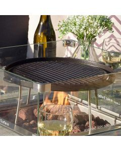 Griddle For Square Casual Dining Table with Firepit