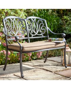 Hartman Amalfi 2 Seat Bench with Cushion